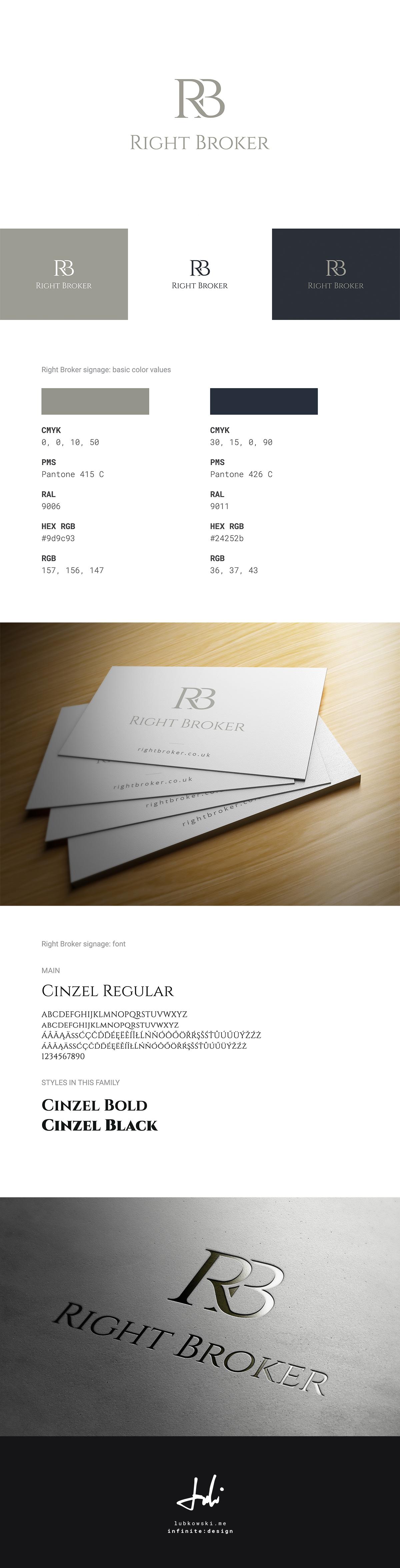 Rightbroker: logo